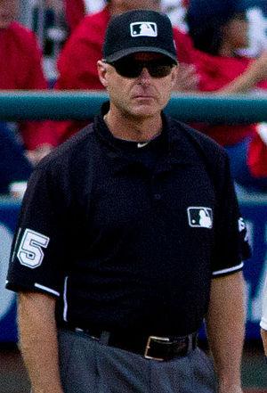 Ed Hickox (umpire) - Hickox in 2012