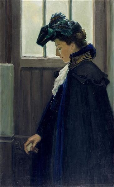 http://upload.wikimedia.org/wikipedia/commons/thumb/b/b9/Edelfelt_At_the_door_1901.jpg/366px-Edelfelt_At_the_door_1901.jpg
