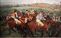 Edgar degas, corse di gentiluomini, prima della partenza, 1862, ripreso nel 1882, 02.JPG