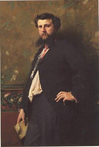 Édouard Pailleron - Édouard Pailleron by John Singer Sargent