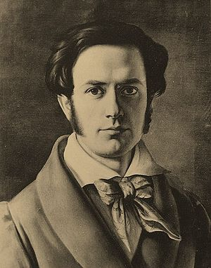 Eduard Magnus - Self-portrait (1827)