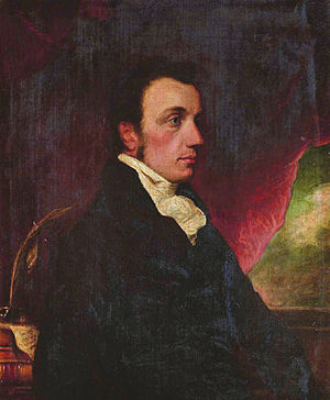 Edward Foss - Edward Foss (Thomas Griffiths Wainewright, circa 1816)