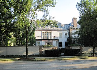 Edward H. Bennett - Bennett's house in Lake Forest, Illinois