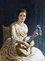 Edwin Long - Mary Dickinson, Viscountess Clifden of Gowran.jpg