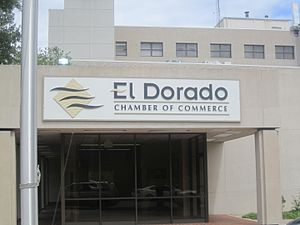 El Dorado, Arkansas - El Dorado Chamber of Commerce building is located downtown.