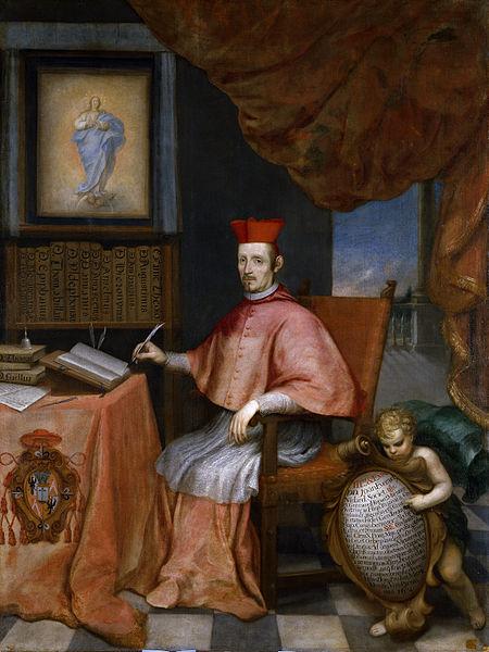 Retrato del cardenal Nithard.