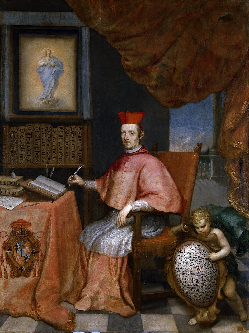 Retrato del cardenal Nithard