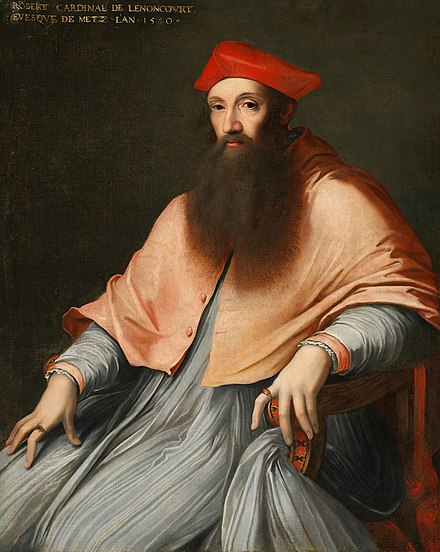 Cardinal Reginald Pole, (1500-1558), last legitimate male Yorkist heir El cardenal Reginald Pole, por Sebastiano del Piombo.jpg
