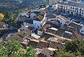 El raval del Castell de Guadalest vist des del cementeri.JPG