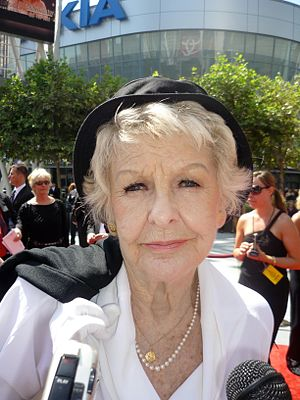 The Moms - Elaine Stritch received an Emmy nomination for Outstanding Guest Actress in a Comedy Series for her performance in this episode.