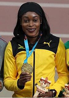 Elaine Thompson-Herah Jamaican sprinter (born 1992)