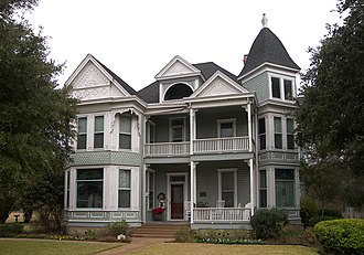 National Register of Historic Places listings in Bell County, Texas - Image: Ele baggett house 2008