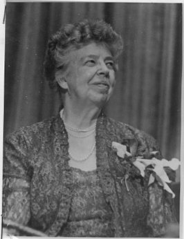 Eleanor Roosevelt in 1950