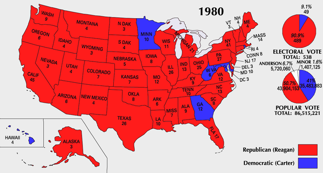 1980 United States presidential election - Wikipedia