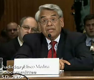 English: Eliseo Medina, Executive Vice Preside...