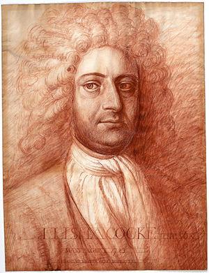 Samuel Shute - Elisha Cooke, Jr.
