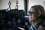 Elle McLemore in C-17 Globemaster III.jpg