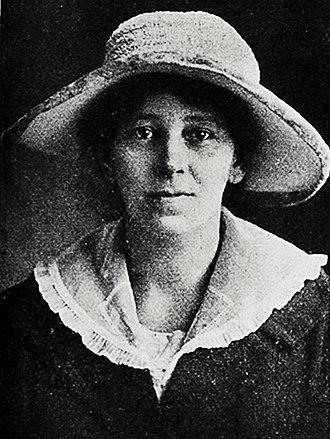 Eden by-election, 1926 - Image: Ellen Melville, 1919