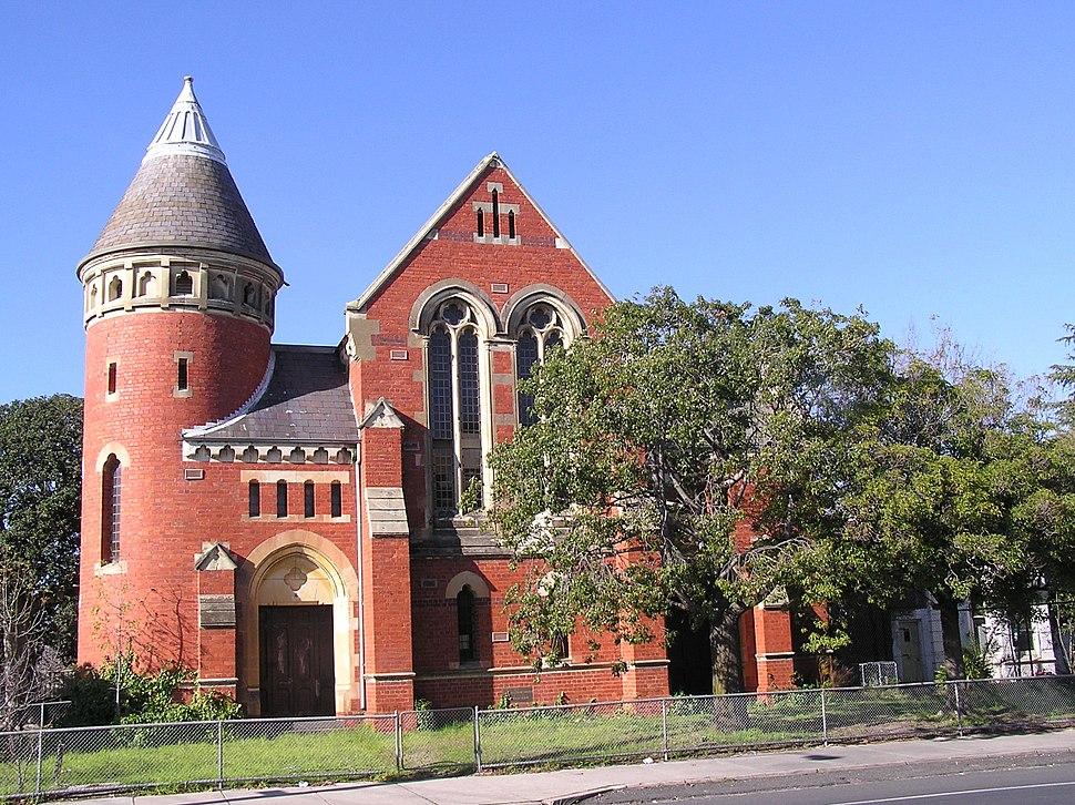 Elsternwick Congregational Church, exterior (2)