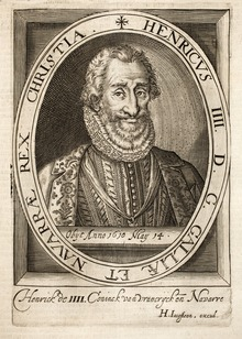 Engraving of Henry IV (Source: Wikimedia)