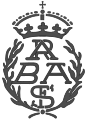 Emblem of the Spanish Royal Academy of Fine Arts.svg