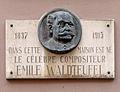 Emile Waldteufel plaque commémorative à Strasbourg.jpg
