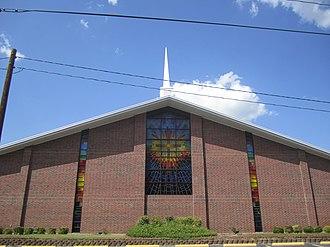 White Oak, Texas - Emmanuel Baptist Church (Dr Chad Richardson) is located off U.S. Highway 80 in White Oak.
