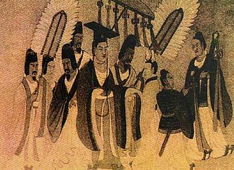 Emperor Xiaowen of Northern Wei - Image: Emperor Xiaowen of Northern Wei