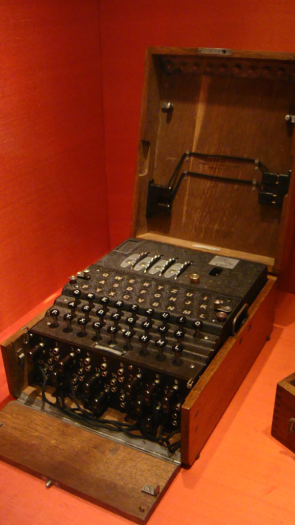 sources work on the enigma machine essay A nazi enigma encryption machine is displayed at the world war ii museum in natick, mass  von neumann's work had military purposes in the cold war dyson remembers how, in the early 1950s.