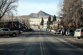 Ennis, Montana - Main Street