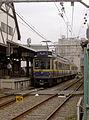 Enoden 10 in Enoshima station.jpg