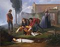 Enrico Pollastrini - Nello alla tomba di Pia de' Tolomei 02.jpg
