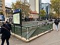 Entrée Station Métro Boulogne Pont St Cloud Boulogne Billancourt 2.jpg