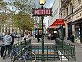 Entrée Station Métro Michel Ange Auteuil Paris 3.jpg