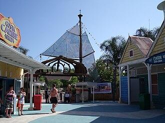 PortAventura World - Costa Caribe Aquatic Park Entrance.