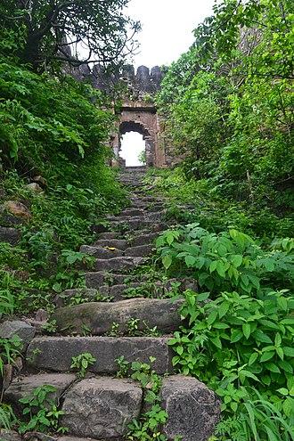 Vijaygarh Fort - Image: Entrance of Vijay Garh Fort