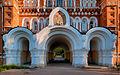 Entrance portal. Coastal Monastery of St. Sergius. Saint-Petersburg.jpg