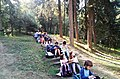 Environmental lesson in the small forest of Patras 9th primary school.jpg