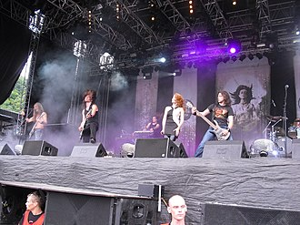 Design Your Universe - Epica performing at Norway Rock Festival in 2010.
