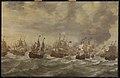 Episode uit de Vierdaagse Zeeslag, 11-14 juni 1666, in de Tweede Engelse Zeeoorlog (1665-1667) Rijksmuseum SK-A-1392.jpeg
