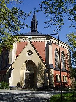 Ersta kirke i maj 2009