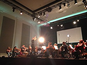 Esa-Pekka Salonen - Esa-Pekka and the Philharmonia performed Lutosławski, Sibelius, and Salonen at the store.