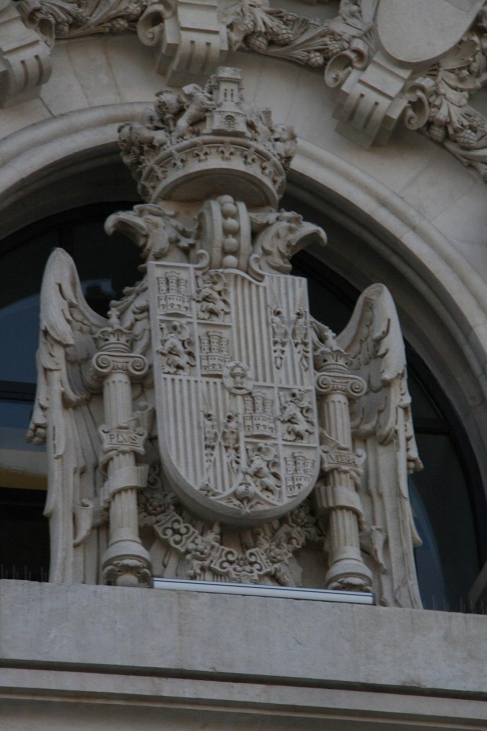 Escudo - Palacio de Comunicaciones
