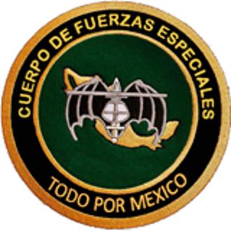 Cuerpo de Fuerzas Especiales - Special Forces Corp 5th Battalion Shoulder Patch