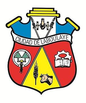 Laboulaye, Córdoba - Image: Escudo de Laboulaye