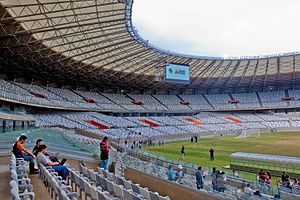 2013 FIFA Confederations Cup - Internal view of the stadium in Belo Horizonte.