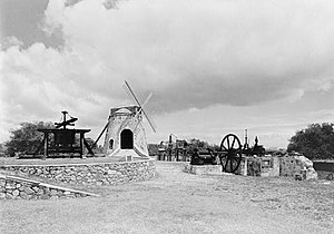 Whim (United States Virgin Islands) - Image: Estate Whim, Windmill, Centerline Road, Westend Quarter (St. Croix County, Virgin Islands)