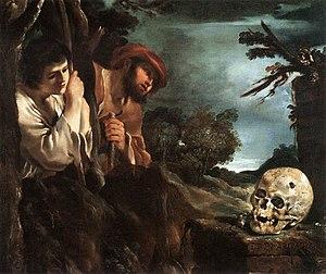 Et in Arcadia ego (Guercino) - Image: Et in Arcadia ego