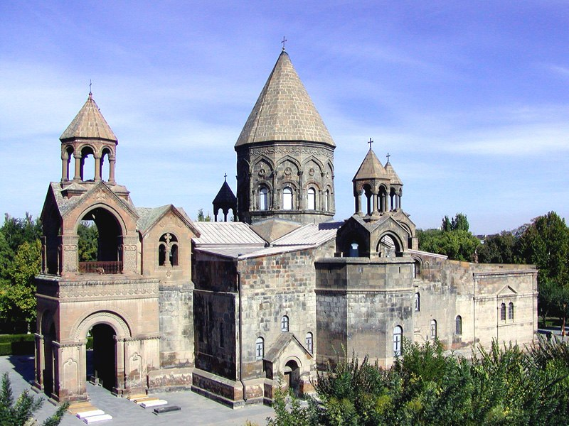 Etchmiadzin Cathedral view