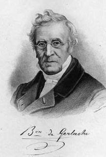 Étienne Constantin de Gerlache lawyer, politician, Belgian Prime Minister (1785-1871)